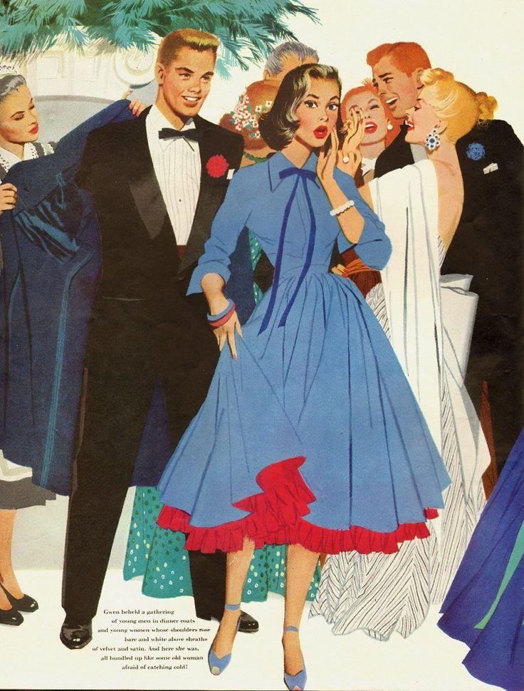 1952 Vintage Magazine Story Illustration by Artist Jon Whitcomb 071413 | eBay