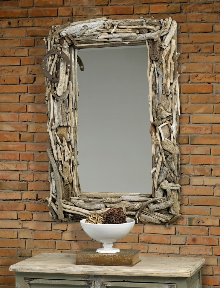 Malibu Driftwood Mirror - Inspired by a natural coastal style simplicity.  Painstakingly hand made