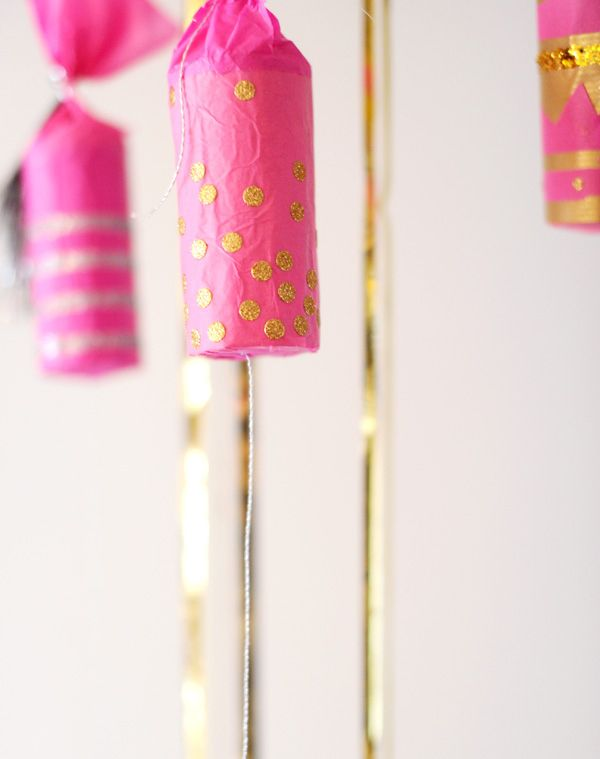 Make your own confetti poppers. | 51 DIY Ways To Throw The Best New Year's Party Ever