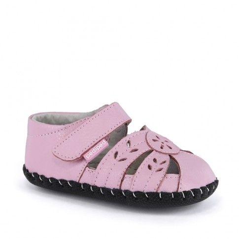 Incaltaminte bebelusi Daphne Light Pink - pediped