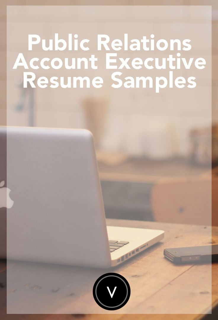 Looking to apply for a PR Account Executive job? Check out our resume samples! #velvetjobs #resume #publicrelationsresume