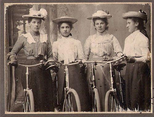 Girls on bikes rock!