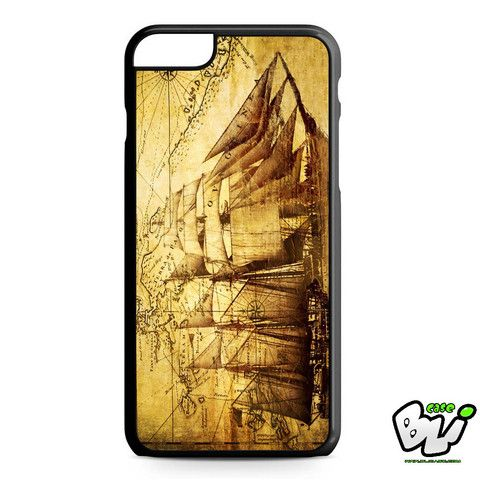 Vintage Old Ship iPhone 6 Plus Case | iPhone 6S Plus Case