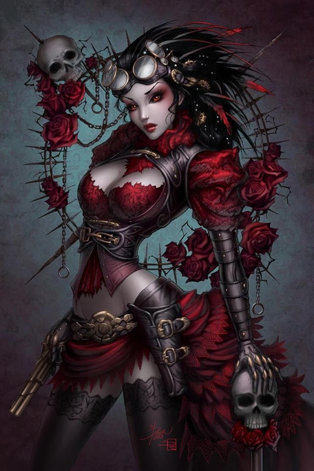 Steampunk Tendencies | Lady Mechanika by ~ Sabinerich http://www.steampunktendencies.com/post/80667104194/l