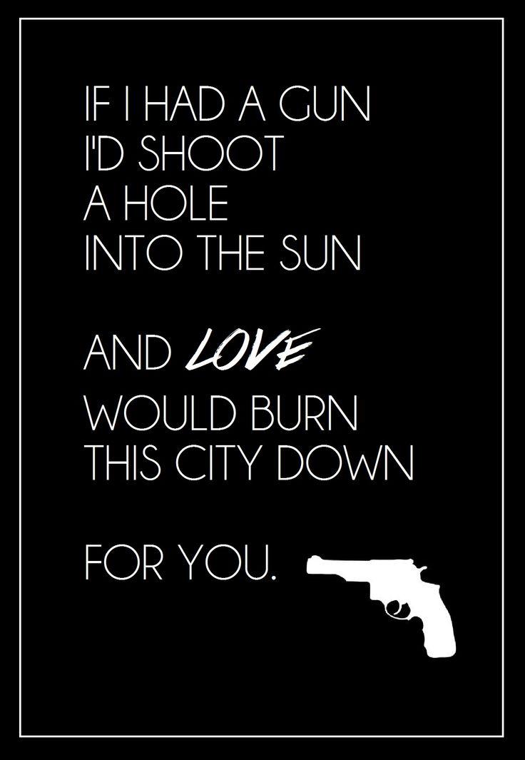 Noel Gallaghers High Flying Birds- If I had a gun