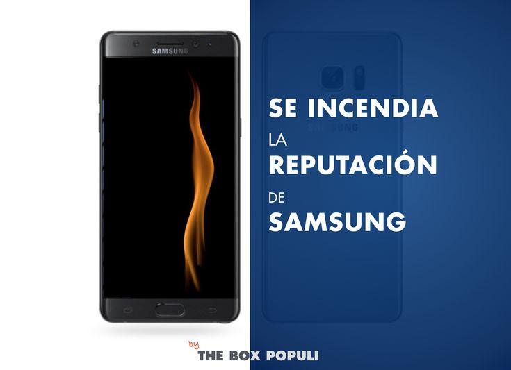 La reputación de Samsung está gravemente afectada por los problemas con los incendios del Samsung Galaxy Note 7. ¿Cómo ha resuelto la compañía esta crisis?
