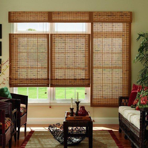 Bali Natural Woven Wood Shades Shades Woven Wood Shades