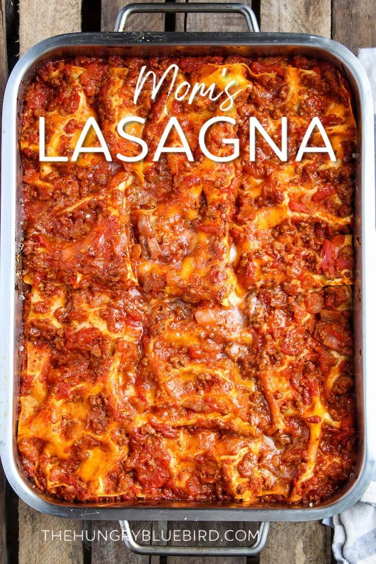 Mom S Classic Beef Lasagna Recipe With Cottage Cheese Recipe Classic Lasagna Recipe Easy Lasagna Recipe Cottage Cheese Lasagna Recipe