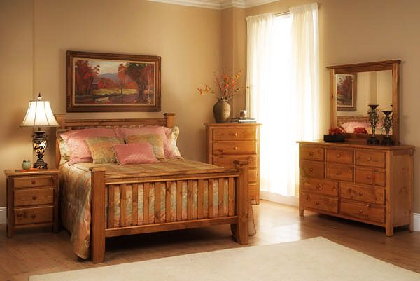 Unfinished Knotty Pine Furniture