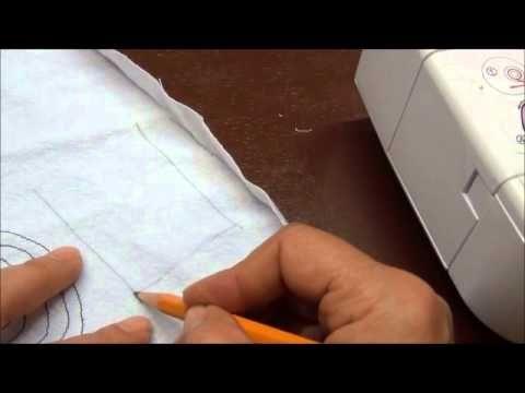 Ejercicios para aprender a usar la máquina de coser - YouTube