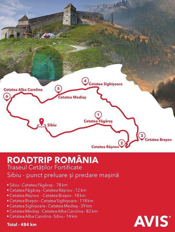 Închiriază o mașină Avis și pleacă într-o călătorie revelatoare a lumii vechi: un roadtrip al cetăților fortificate din România! www.avis.ro