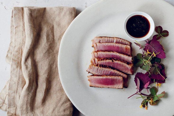 Pan-Seared Albacore Tuna Loin