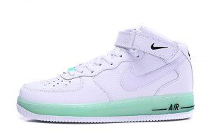 a29d955270e34d Nike Air Force 1 Upstep Jelly White Black 596729 030 Mens Womens Running  Shoes