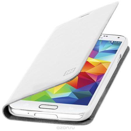 Promate Tama-S5 чехол для Samsung Galaxy S5, White  — 202 руб. —  Дизайнеры Tama-S5 смогли создать по-настоящему многофункциональный и практичный чехол для Galaxy S5. В передней флип - крышке предусмотрены карманы для кредитных карт, абонементов, визиток и пр, а также встроен магнитный замок, плотно фиксирующий крышку при закрывании. Складной дизайн чехла позволяет его использовать как горизонтальную подставку для смартфона. Разные цвета придадут вашему Samsung яркую индивидуальность.