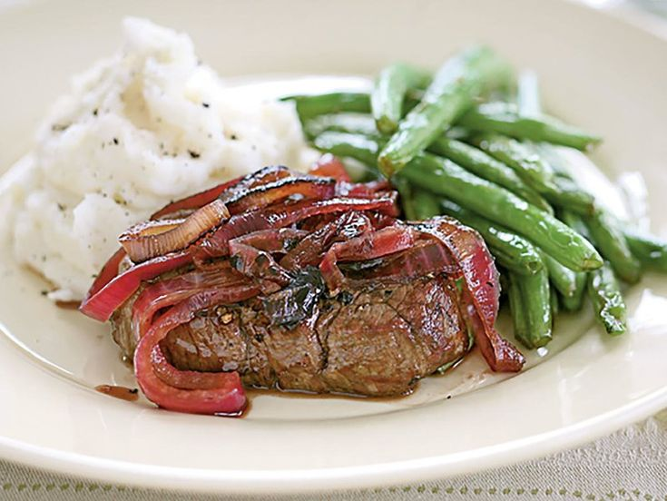 Tenderloin Steaks with Red Onion Marmalade Recipes