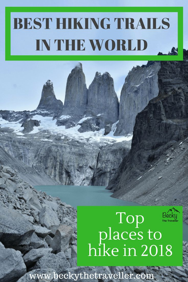Best hiking trails in the world - Top places to hike in 2018. Read some of the best hiking trails to do in 2018 from adventurous travel bloggers all around. Inspiration for your next big hiking trip. Hikes include Annapurna Circuit in Nepal, Albania Alps, Patagonia, India and many more gorgeous trekking destinations. Hiking trails | Best hikes | Top hikes in the world | Trekking holiday | Hiking tips | Hikes in Europe | Hikes in Asia | Hikes in North America | Hikes in South America