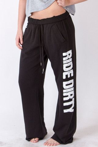 Black Ride Dirty Pant | OFF-ROAD VIXENS CLOTHING CO.