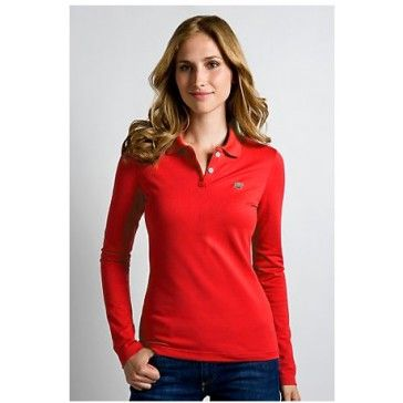 Classic Women Long Sleeve, Red
