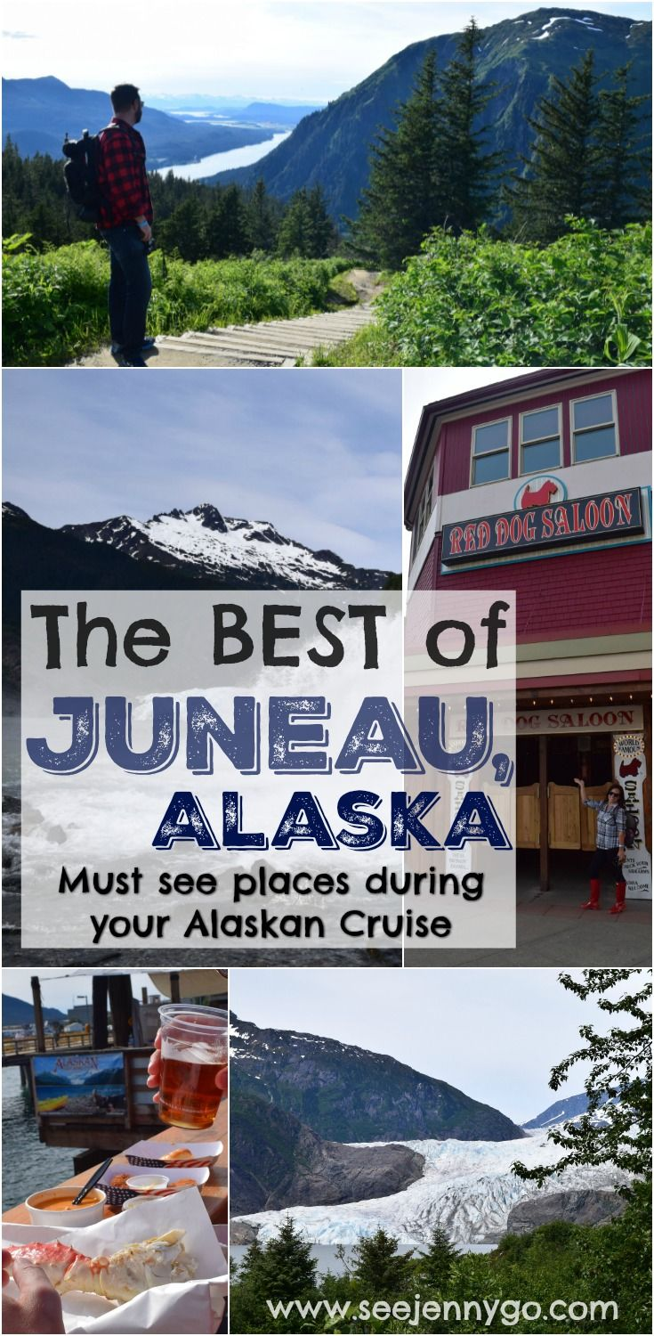 Find all the best places to visit and things to do when you have a day in Juneau, Alaska during your Alaskan cruise. #princesscruise #alaskancruise