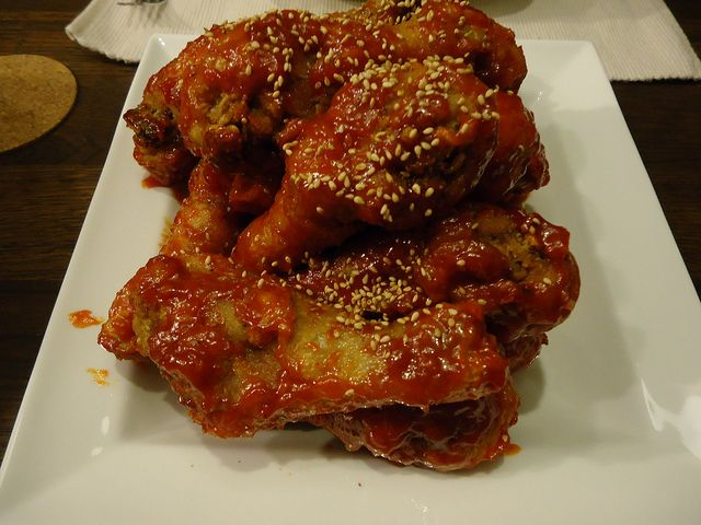 Korean fried chicken this is one of my favorite recipes, can't make it ...