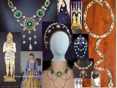 Elizabethan Fashion & Jewelry