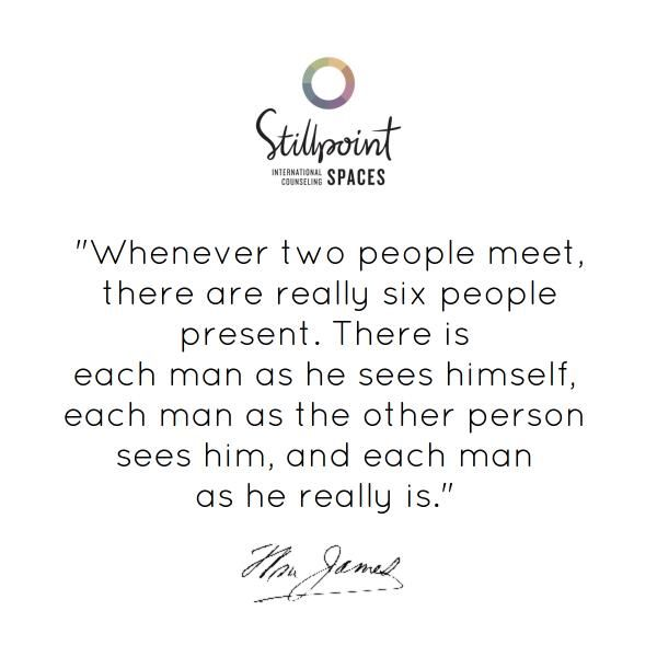 best psychology quotes images psych quotes   whenever two people meet there are really 6 people present there is each