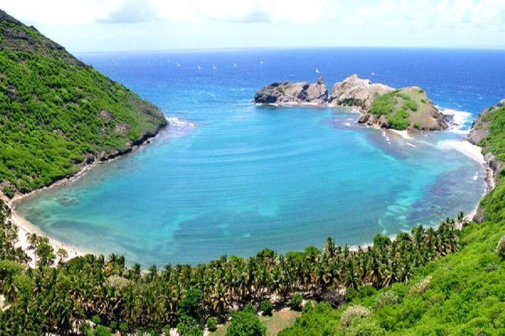 Bay of Pompierre, Guadeloupe, Franciaország