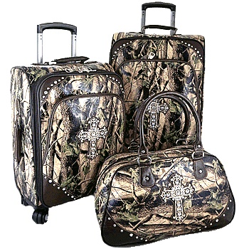 4-Montana West Camo Cross Luggage HFL001HCM