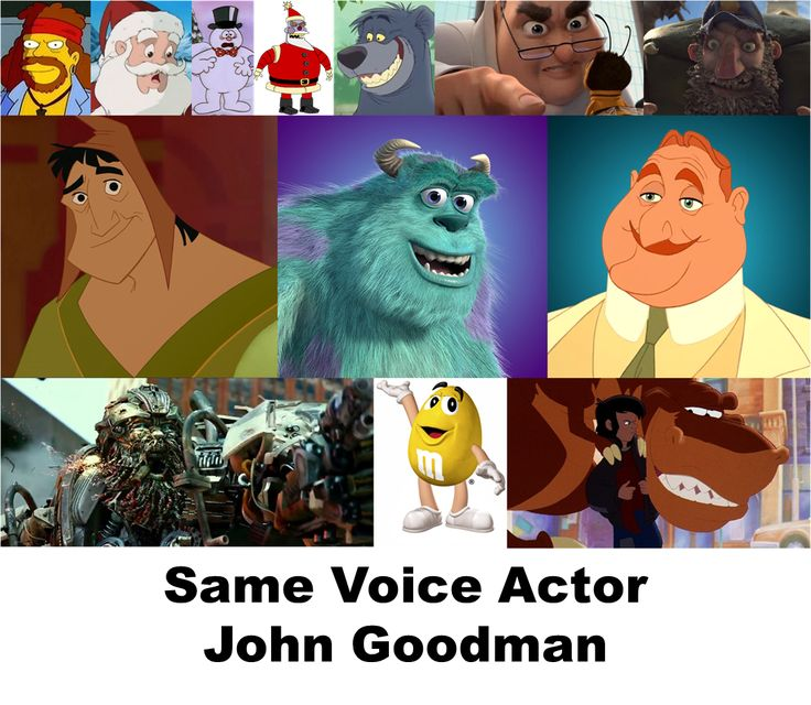John Goodman is the man! #Voiceover | Voice Acting | Movie ...