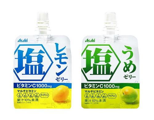 Asahi salt drinks