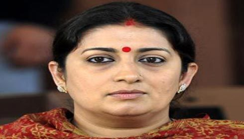 Congress, BJP spat over HRD Minister Smriti Irani's qualification
