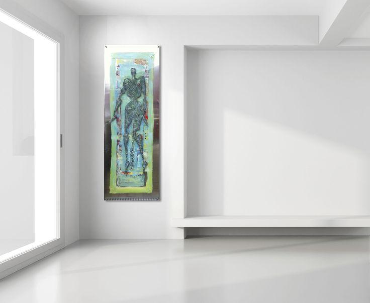 Art by Elisabeth takvam.  Acrylic on aluminum