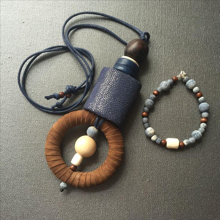 Galuchat, peau, perles