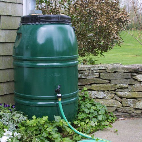 Have to have it. Great American 60 gal. Recycled Plastic Painted Rain Barrel $118.98
