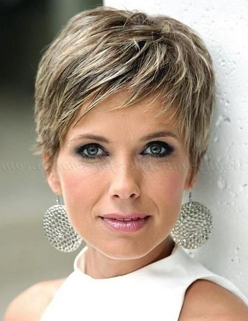 Newest Women Pixie Haircuts For Short Hairstyles For Older Woman