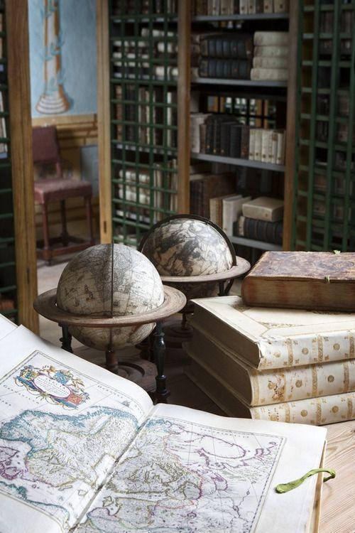 books n buildings - Skokloster castle library, Sweden