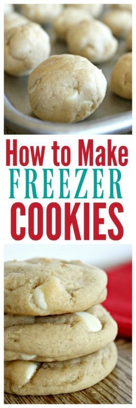 Step by Step directions on making the perfect freezer cookies!
