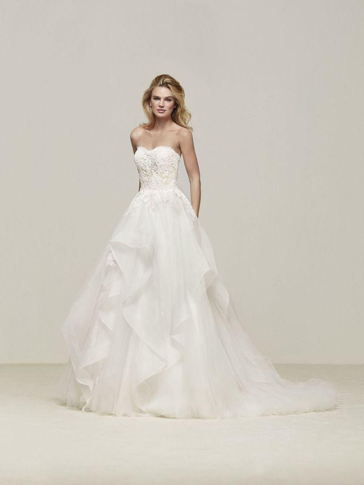 24 besten Brautkleid Bilder auf Pinterest | Hochzeitskleider ...