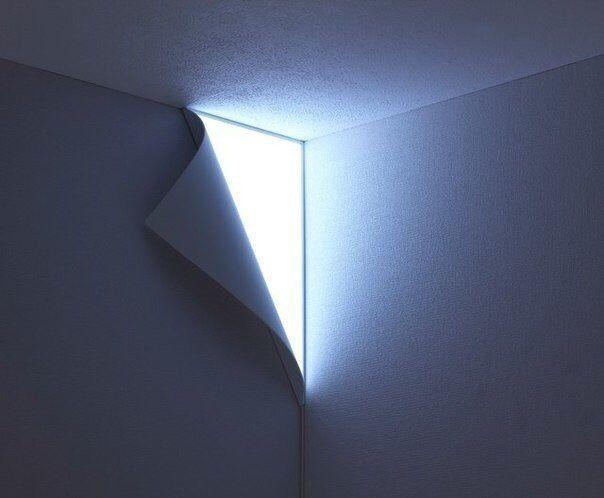 Corner light . #lamp