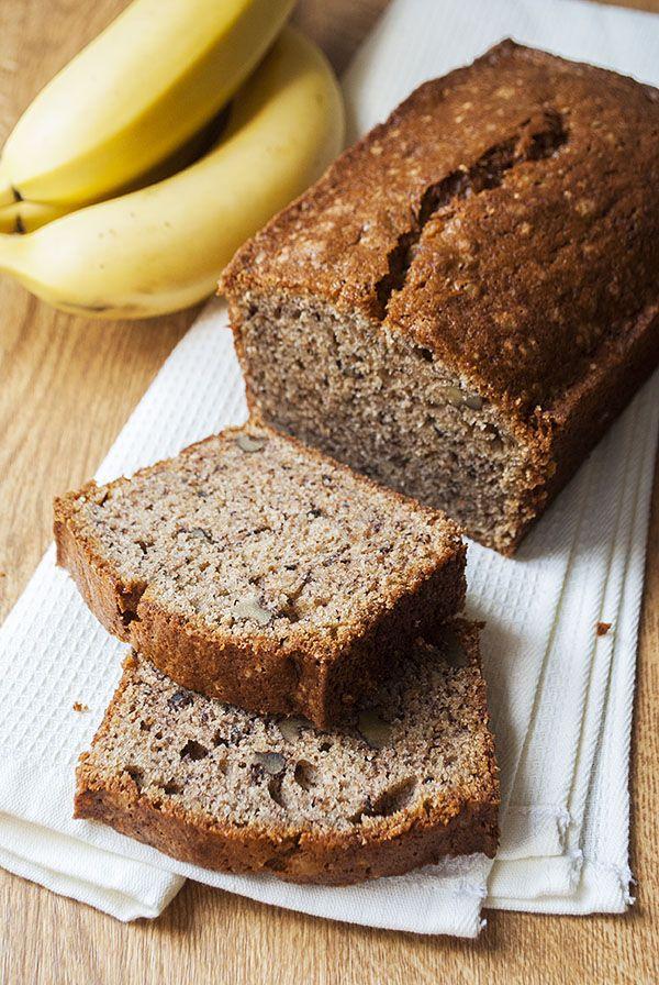 365 best brotbackautomat images on pinterest baguette bakeries saftiges vollkorn bananenbrot mit walnssen forumfinder Images