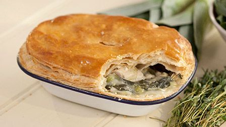 These tasty pies are guaranteed to impress - especially as you've made your own rough puff pastry. Paul shows you how easy it is.