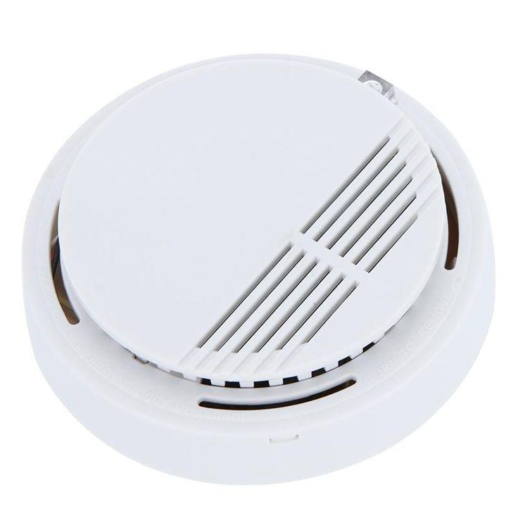 Smart Photoelectric Home House Building Security Smoke Alarm Cordless Smoke Detector Fire Alarm Sensor Equipment