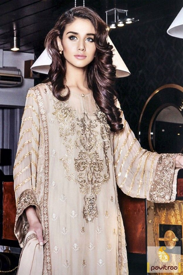 Elegant Afghani style beige chiffon georgette bridal salwar suit with price. Purchase party wear embroidery salwar kameez with full sleeves on designer dresses. #partywearsalwarsuit, #pakistanisalwarsuit, #bhagalpuri,#salwarkameez, #embroiderypartywearsuit, #discountoffer, #plussizedresses, #marriagewear, #receptionwear Visit Our New Product: http://www.pavitraa.in/store/embroidery-salwar-suit/ Any Query: Call Us:+91-7698234040 E-mail: info@pavitraa.in