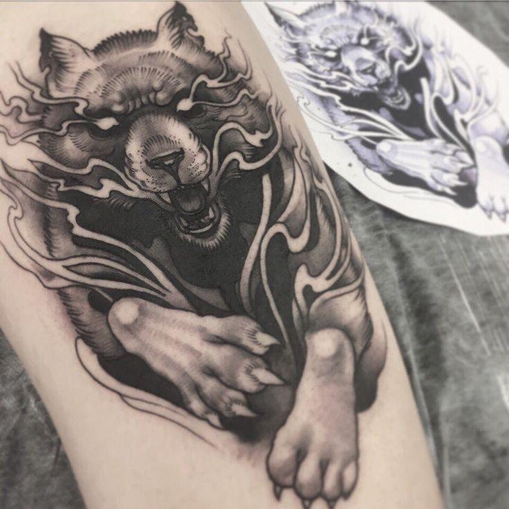 Волк Мастер Вася Эверест Адрес: ст. м. Парк Победы, площадь Чернышевского, 10. Тел: 8-921-941-76-40 #tattoo #tattoos #tattooed #ink #inked