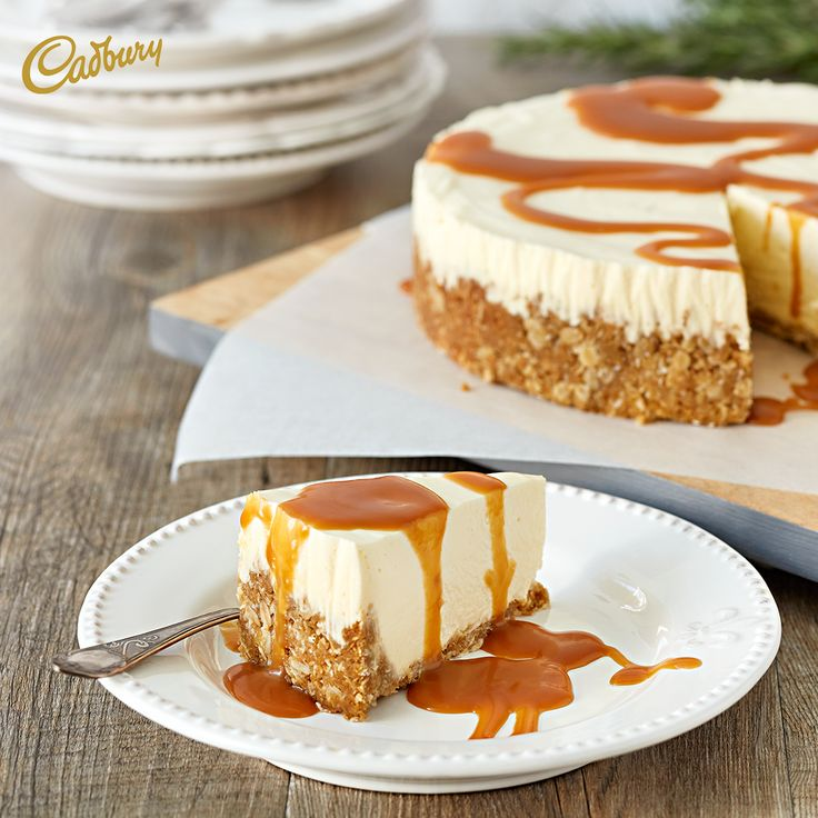 With an extra day to spare, I'll be in the kitchen with my family whipping up this White Chocolate Caramel Oat Cheesecake. So many of my favourite things in one glorious dessert! Dangerously delicious.  #CADBURY #CadburyKitchen #chocolate #cheesecake #whitechocolatecheesecake #caramelcheesecake #dessert #dessertideas