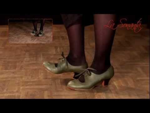 Cómo usar las manos, los brazos y los pies en el flamenco - YouTube