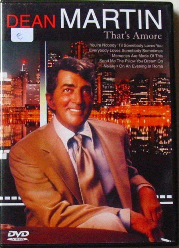 DVD DEAN MARTIN - THAT'S AMORE