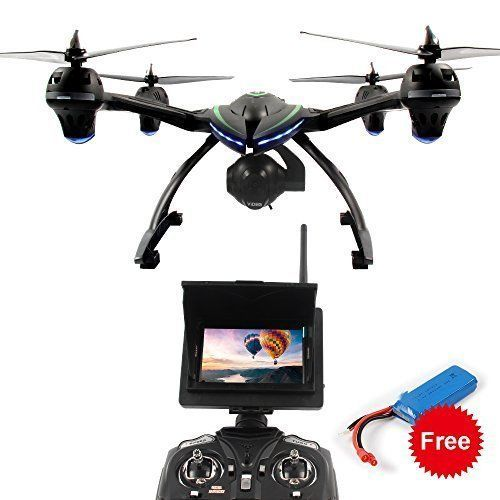 Quadcopter RC Drone 5.8 GHz Real-time FPV Transmission Monitor 2MP HD Camera  #K
