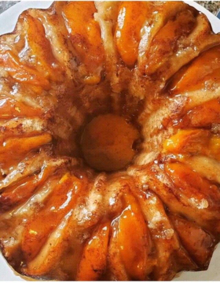 Crown Royal Peach Bundt Cake Foxieroxiegoodies In 2020 With