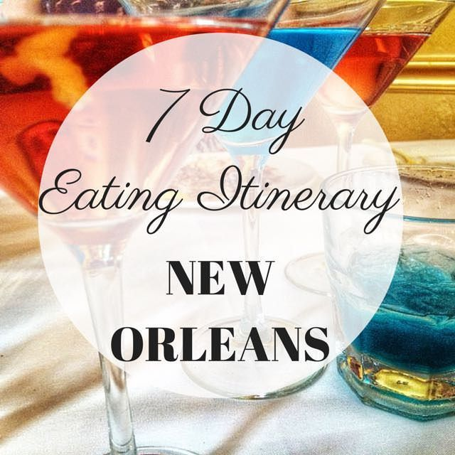 Want to know what and where to eat in New Orleans? From 25 cent martinis to the best gumbo, jambalaya, po' boys and brunch, here's a 7-day eating itinerary.